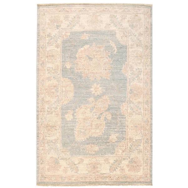 Herat Oriental Afghan Hand-knotted Vegetable Dye Oushak Wool Rug (2'1 x 3'2) - 2'1 x 3'2 23553588