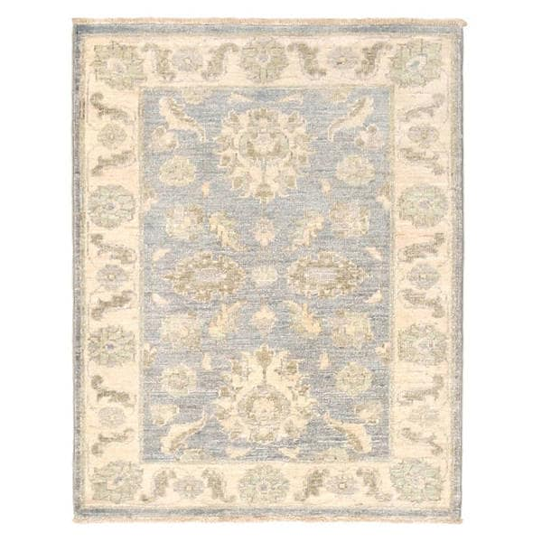 Herat Oriental Afghan Hand-knotted Vegetable Dye Oushak Wool Rug (2'3 x 2'9) - 2'3 x 2'9 23553592