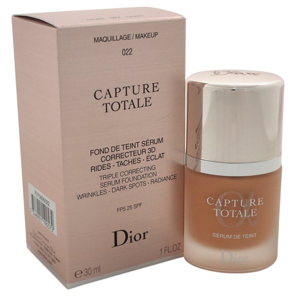 Dior Capture Totale Triple Correcting Serum Foundation SPF 25 022 Cameo 23555515