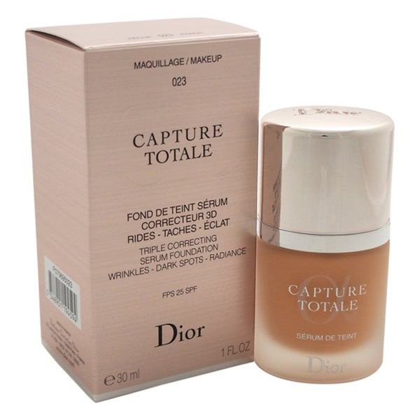 Dior Capture Totale Triple Correcting Serum Foundation SPF 25 023 Peach 23555517