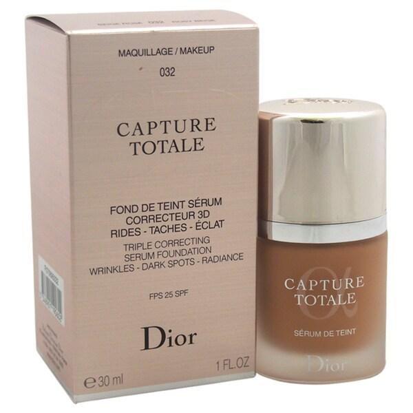 Dior Capture Totale Triple Correcting Serum Foundation SPF 25 032 Rosy Beige 23555518