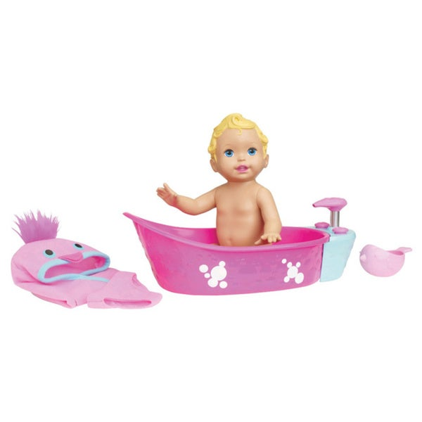 Mattel Little Mommy Bubbly Bathtime Doll 23558733