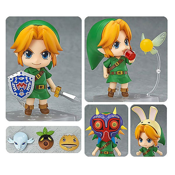 Good Smile The Legend of Zelda: Majora's Mask 3D Link Nendoroid Action Figure 23562384