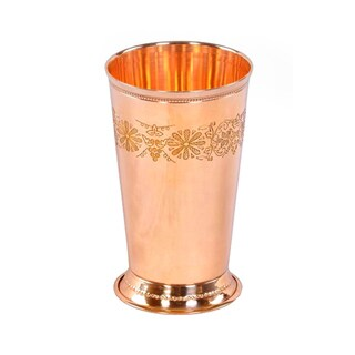 Alchemade Copper Floral 18 oz. Mint Julep Cup 23573759