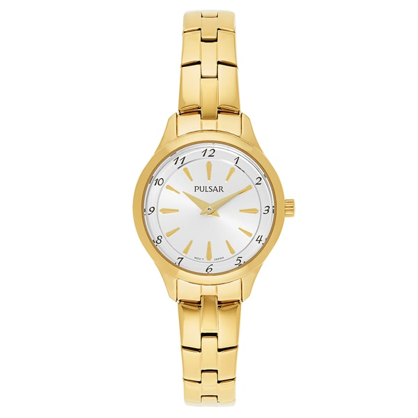 Pulsar Business Gold-plated Stainless Steel Women's Watch 23573812