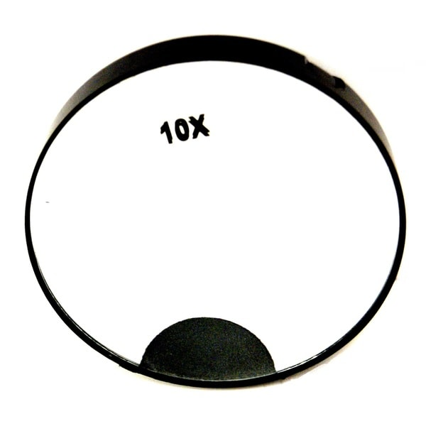 Rucci 10x Magnification LED Light Mirror with Suction Cups 23574209