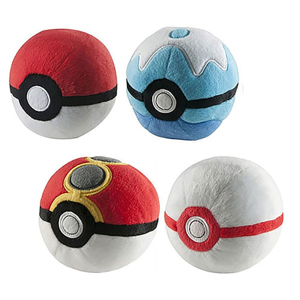 Tomy Pokemon 5-inch PokeBall Assortment Plush (Pack of 6) 23574731