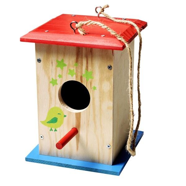 Stanley Jr. Wood Birdhouse Building Kit 23584148