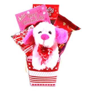 Puppy Love Valentine's Day Gift Box