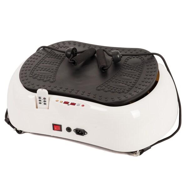 Emer Whtie Whole Body Vibration Basic Reshape Fitness Machine Platform 23584638