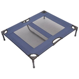 """Pawhut 36"""" x 30"""" Elevated Dog Bed / Pet Cot"""