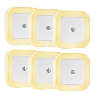 Litom 0.5W Plug-In Square LED Nightlight (Pack of 6)