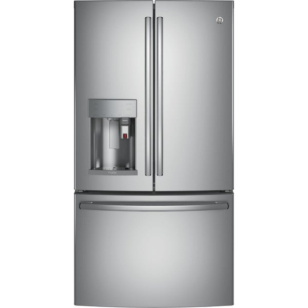 GE Profile Series Energy Star 27.8 Cubic Feet French Door Refrigerator With Keurig K-Cup Brewing System 23606790