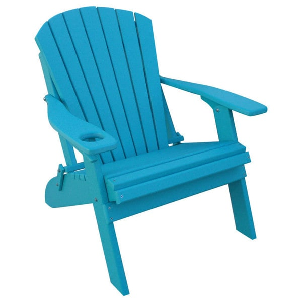 Poly Adirondack BIG BOY Chair- OVERSIZED - 1 Cup Holder 23606928