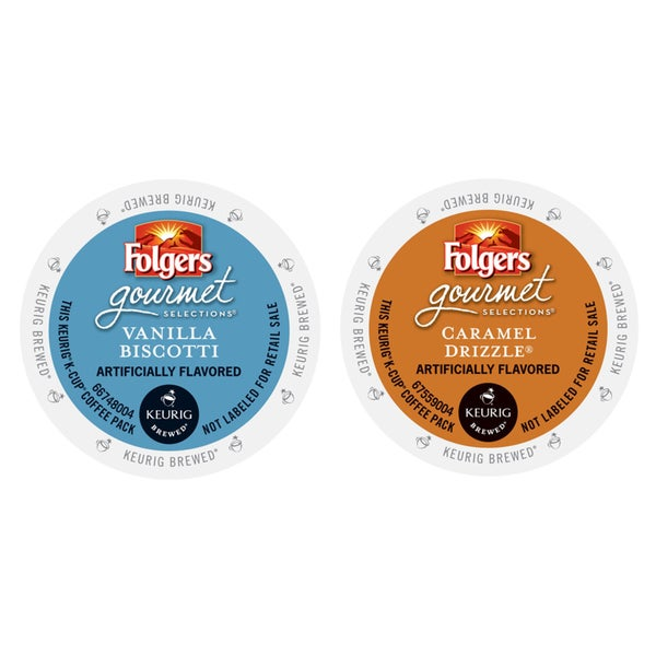 Folgers Flavored Pack of Coffees, a Timeless Selection of Classic, Irresistible Tastes, 48 Count 23610427