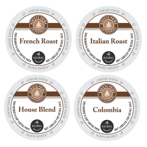 Barista Prima Coffee Pack, a Flavorful Combination of Italian and French Roasts to Satisfy Your Taste Buds, 96 Count 23610449