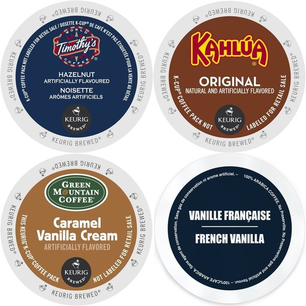 K-Cup Flavored Coffee Variety Pack Keurig 2.0 K-Cup Sampler (96 Count) 23610484