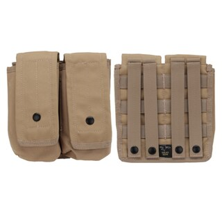 Galati Gear Mag Pouch Molle AR15/AK Double, 30 Round, Tan 23610859