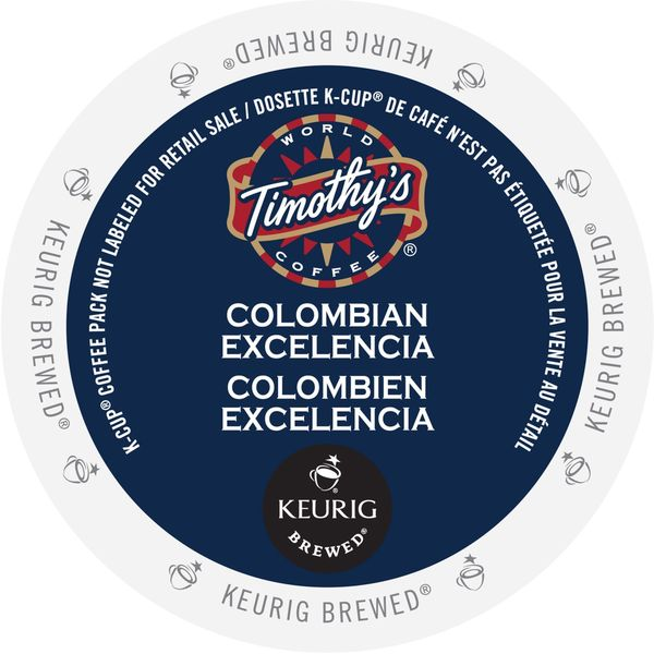 Timothy's Colombian Excelencia K-Cup Portion Pack 23611633