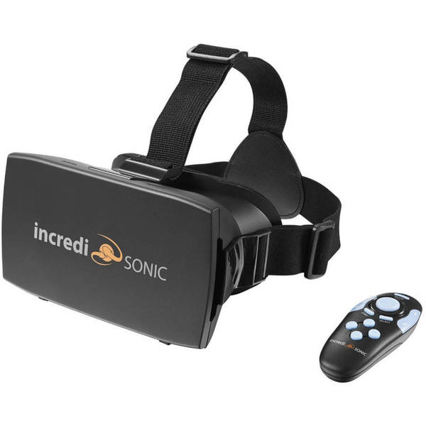IncrediSonic Smartphone 3D VR Virtual Reality Headset and Gaming Controller 23620687