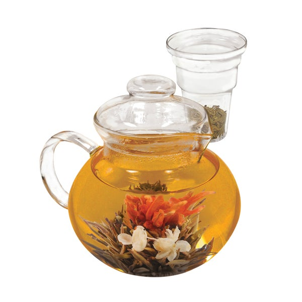 Primula Classic Glass Tea Pot with Infuser -- 4 per case. 23623085