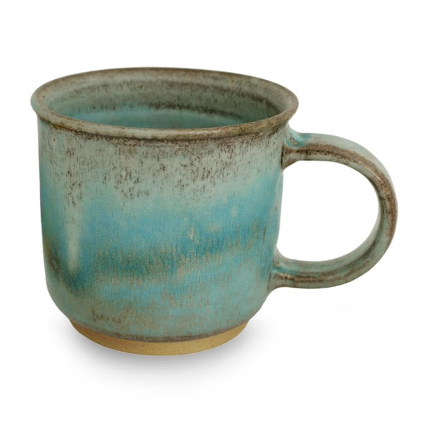 Handmade Ceramic Mug, 'Earth and Sky' (Thailand) 23629342