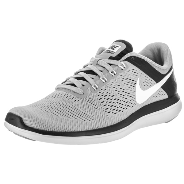 Nike Men's Flex 2016 Grey Synthetic Leather Running Shoe 23630197