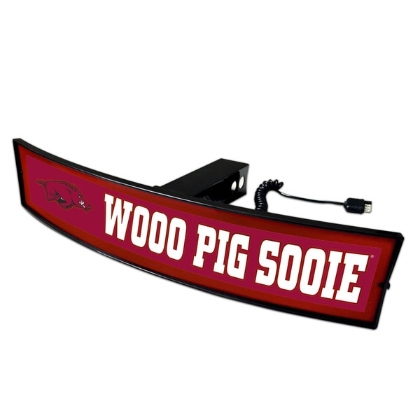 Fanmats Arkansas Wooo Pig Sooie Light-up Hitch Cover 23674386