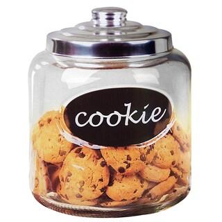 Home Basics Cookie Jar With Metal Top