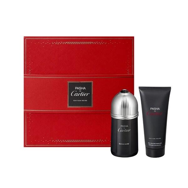 Cartier Pasha Edition Noire Men's 2-piece Gift Set 23729402