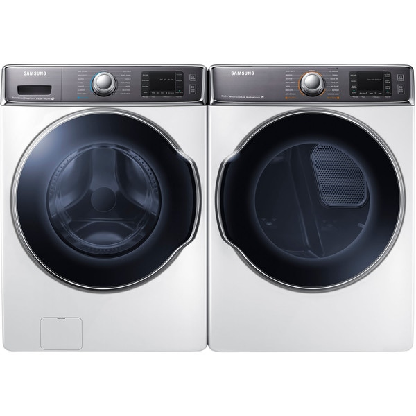 Samsung 9.5 cu. ft. Front-Load Washer and Electric Dryer 23749434