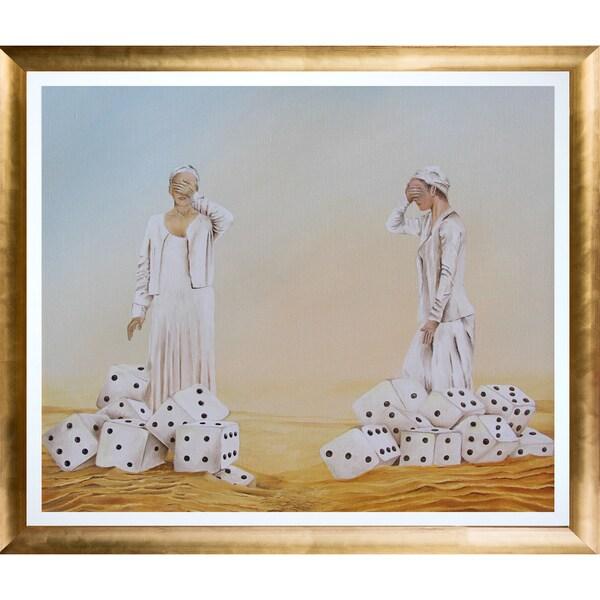 Rudy Baeten 'Dice' Fine Art Print on Canvas 23750973