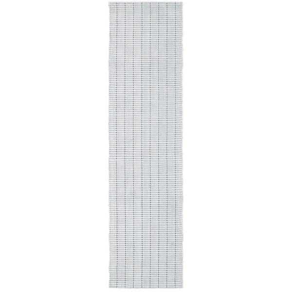 L and R Home Kessler Light Grey Indoor Runner rug(2' x 8' ) 23778021
