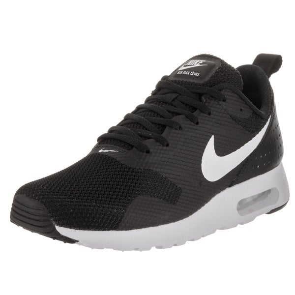 Nike Men's Air Max Tavas Black Textile Running Shoes 23784660