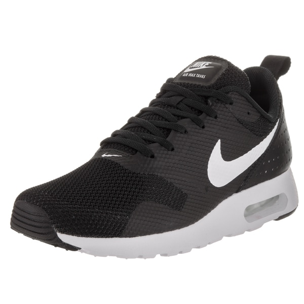 Nike Men's Air Max Tavas Black Textile Running Shoes 23784653