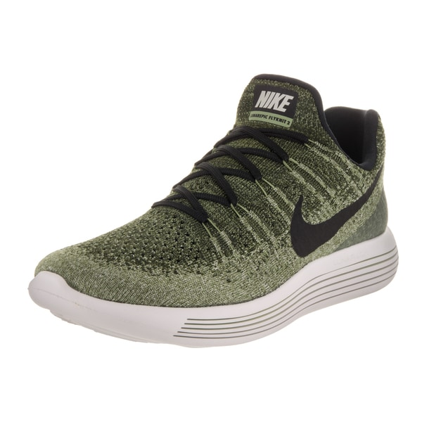 Nike Men's Lunarepic Low Flyknit 2 Green Running Shoe 23785357