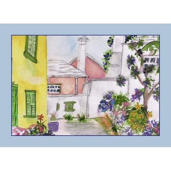 Yellow House Place Mat Set of 4 23826196