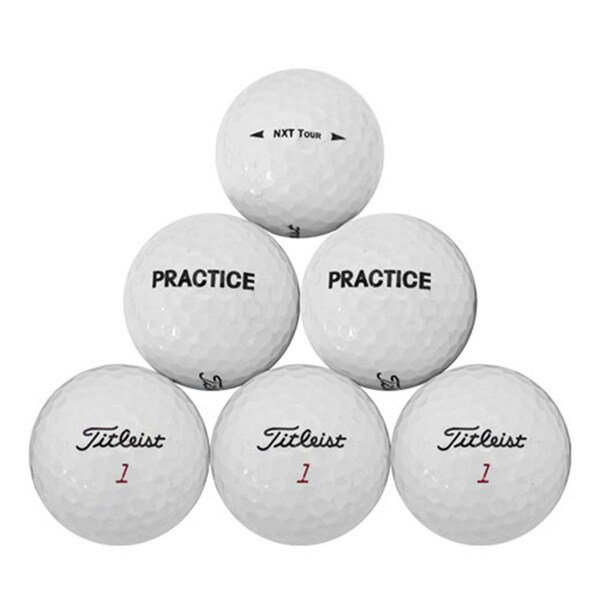 Titleist NXT Tour Practice Recycled Golf Balls (Pack of 50) 23833736
