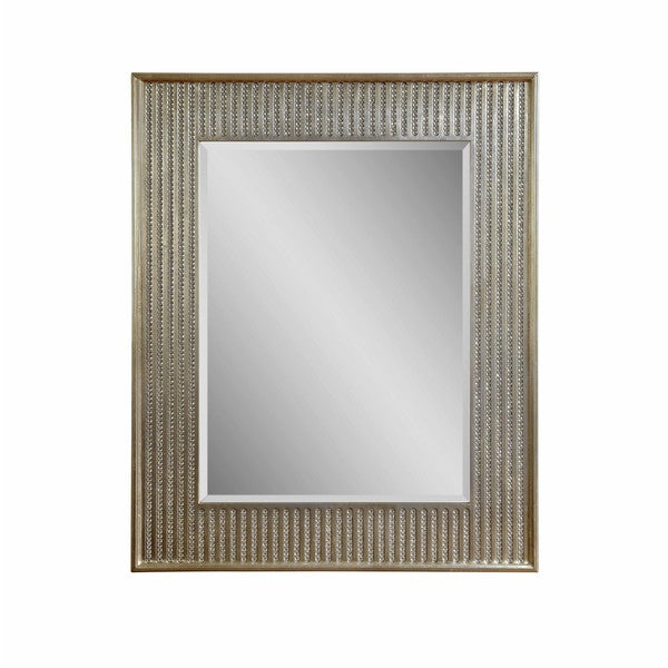 Bling Beveled Glass Resin Frame Wall Mirror 23833896