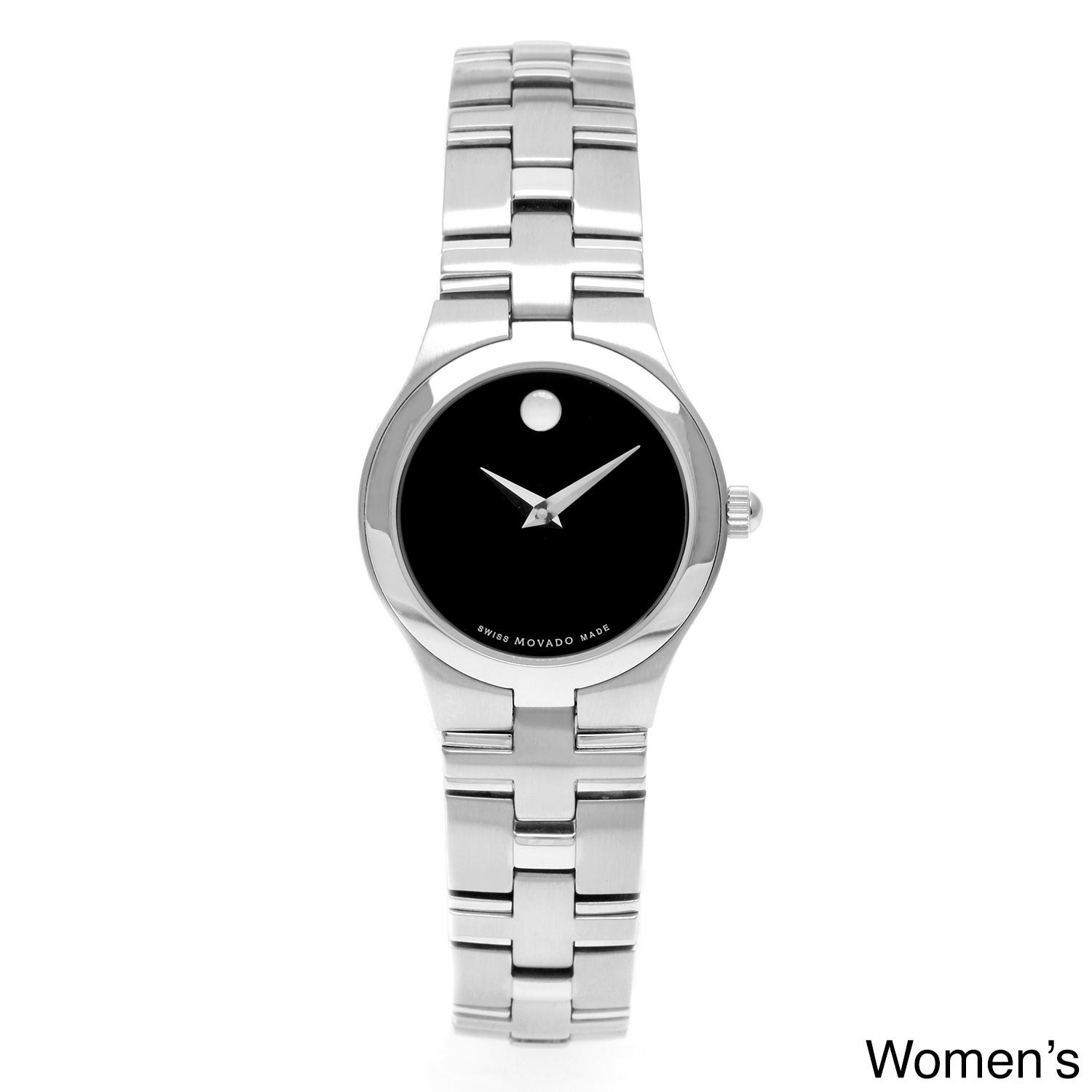Movado Juro Mens 0605023 Or Womens 0605024 Stainless Steel Watch
