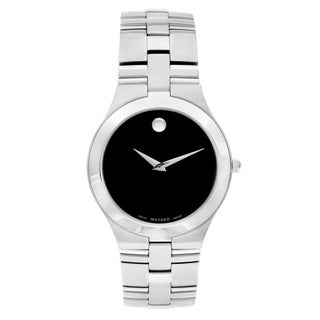 Movado 'Juro' Men's 0605023 or Women's 0605024 Stainless Steel Watch