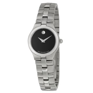 Movado Juro Women's Black Dial Watch
