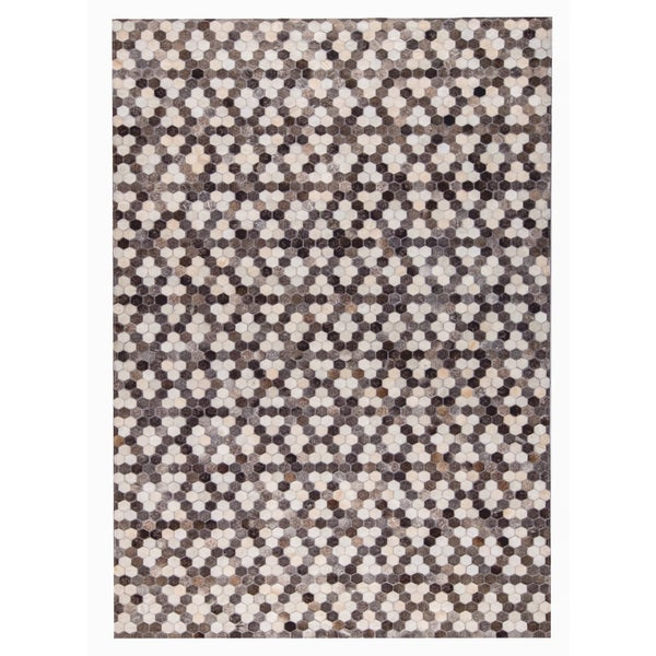 M.A.Trading Hand Made Star Grey/White (8'x10') (India) 23834233