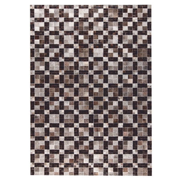 M.A.Trading Hand Made Bricka Grey/Black (9'x12') (India) 23834284