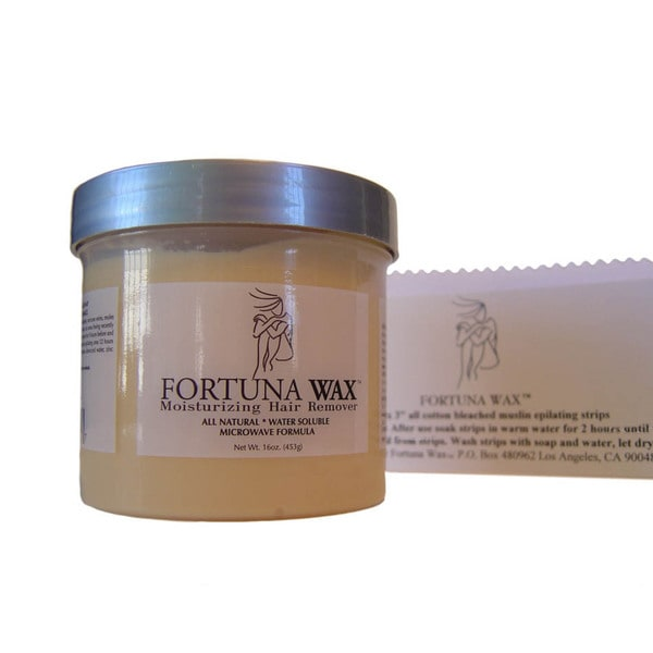 Fortuna Wax 12-ounce Hair Removal Kit