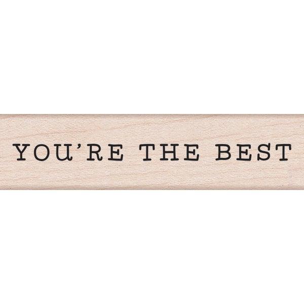 Hero Arts Mounted Rubber Stamp 3X.75-You're The Best 23842821