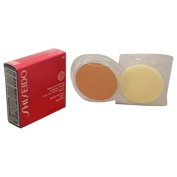 Shiseido Sheer & Perfect Compact (Refill) SPF 21 I60 Natural Deep Ivory 23848999