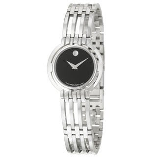 Movado Women's Esperanza Black Dial Watch