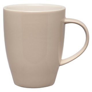 Dinnerware Coffee Tea Mugs, Ceramic Stoneware, Wheat, 12-Ounces, Set of 4 Mugs