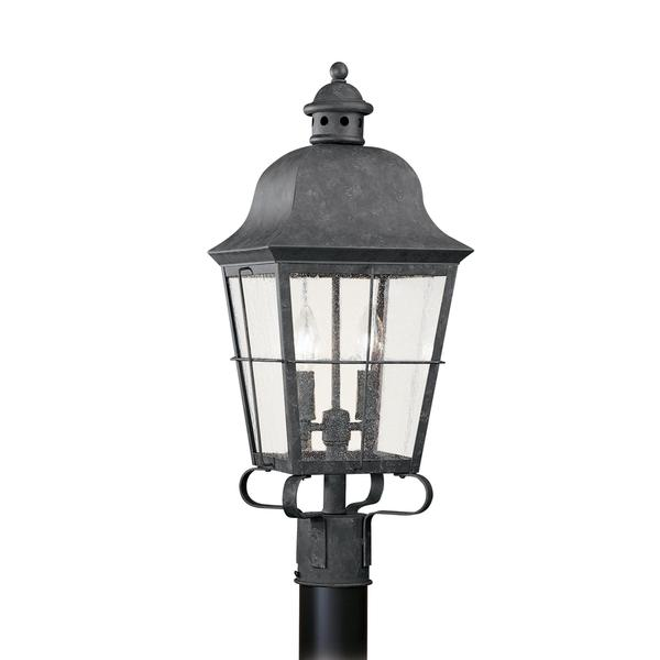 Sea Gull Chatham 2 Light Oxidized Bronze Outdoor Fixture 23865554